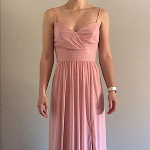 Chiffon A-Line Bridesmaids Dress